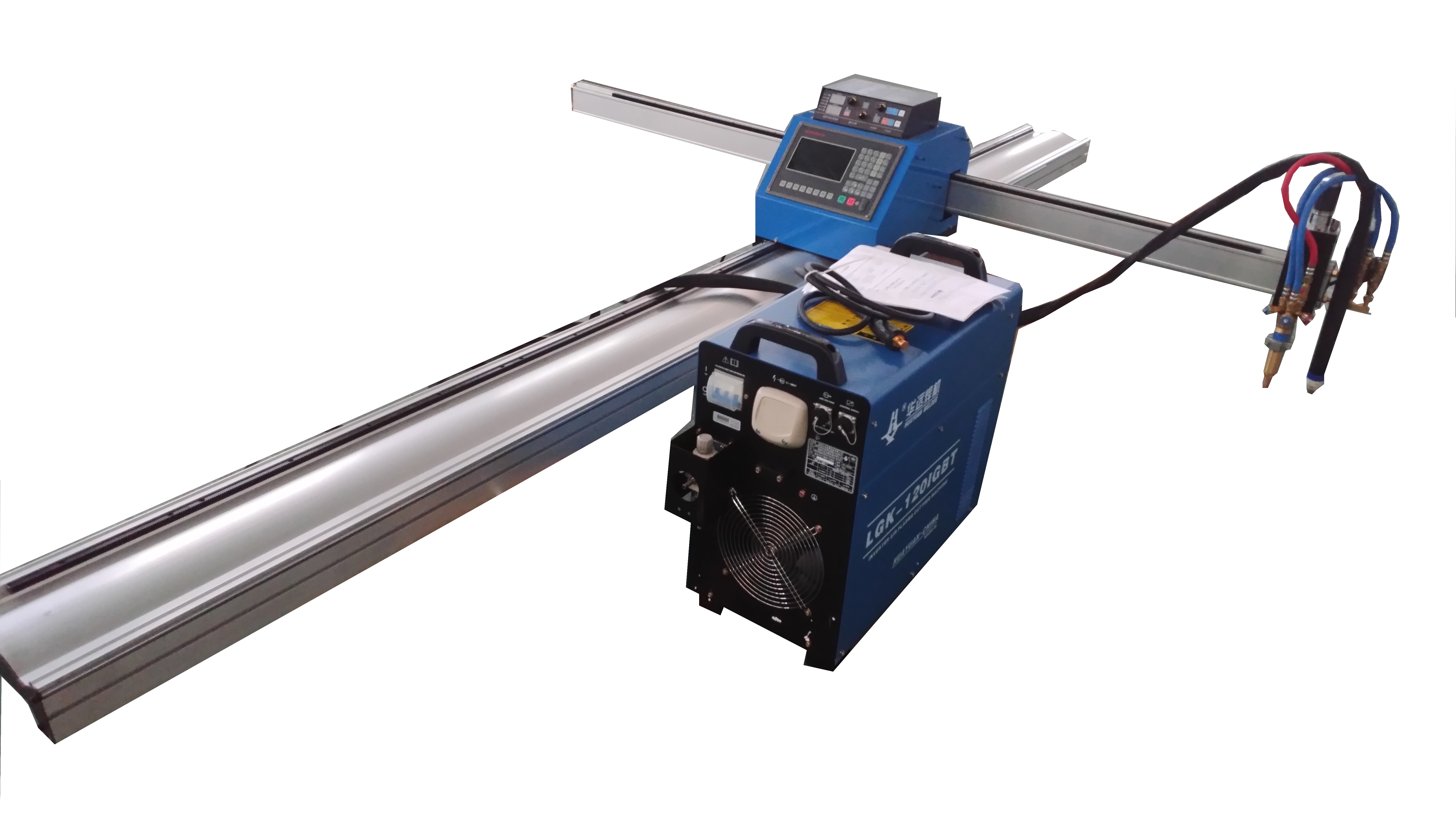 CNC Metal Portable Plasma cutter (plasma cutting machine)with Flame Cutting Torch