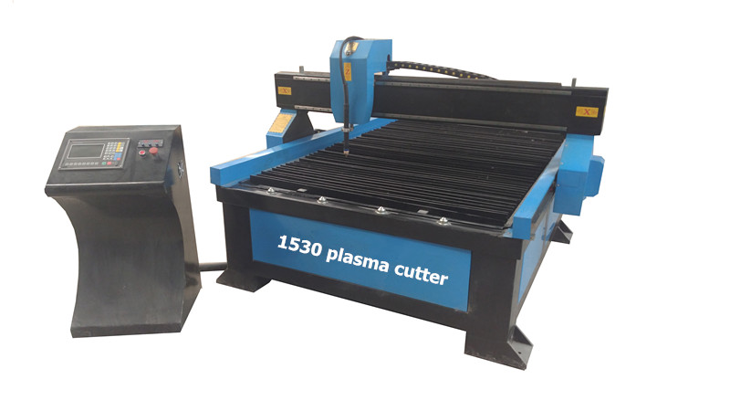 1530 China CNC plasma cutter for metal cutting with water tank