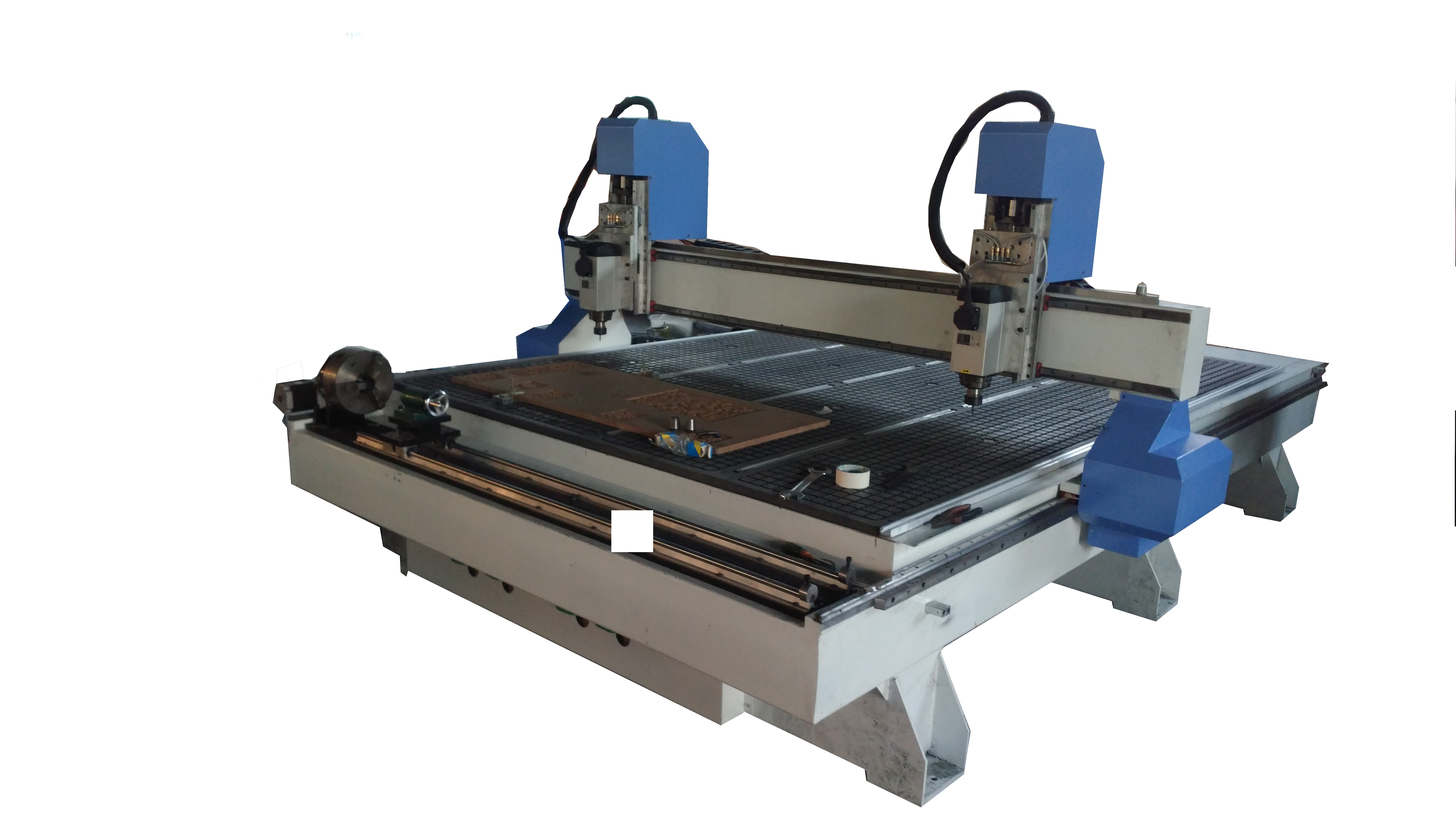 2030 CNC router machine woodworking with 4 axis rotary