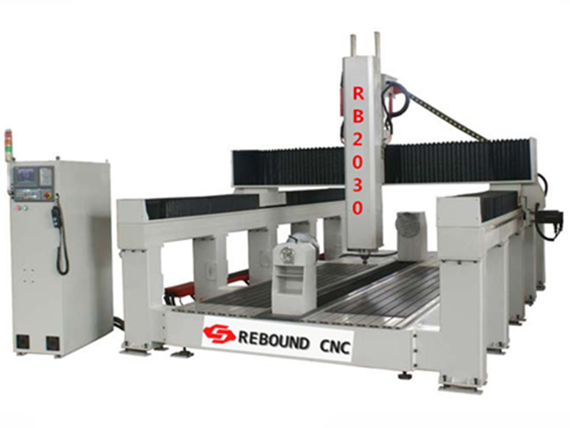 China 4 Axis CNC Router Machine for Drilling Engraving Foam/EPS Mould
