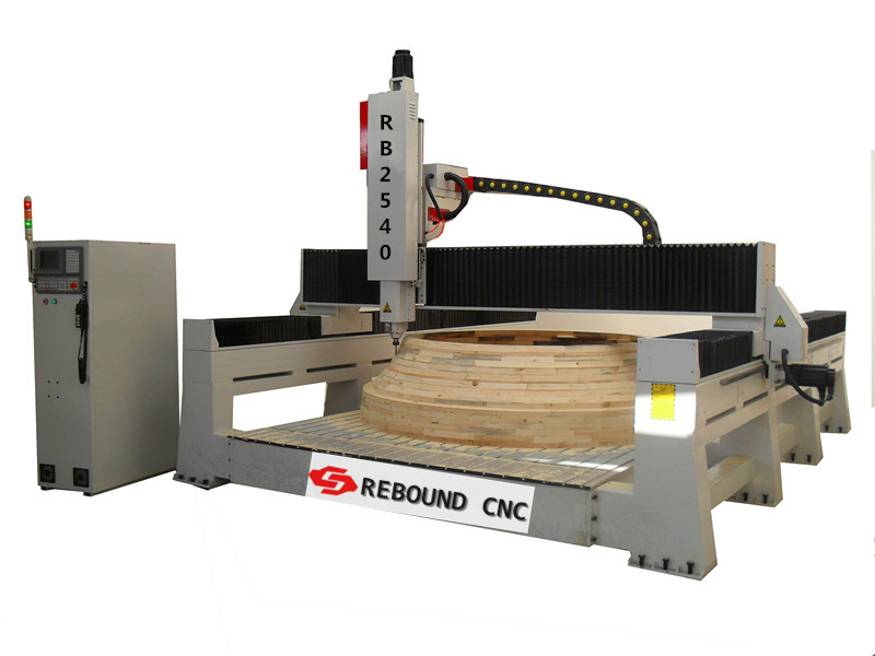 2540 wood mould carving CNC router machine