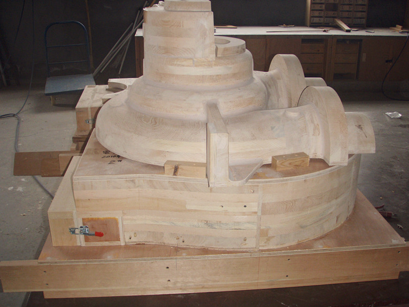 wood mould carving CNC router machine